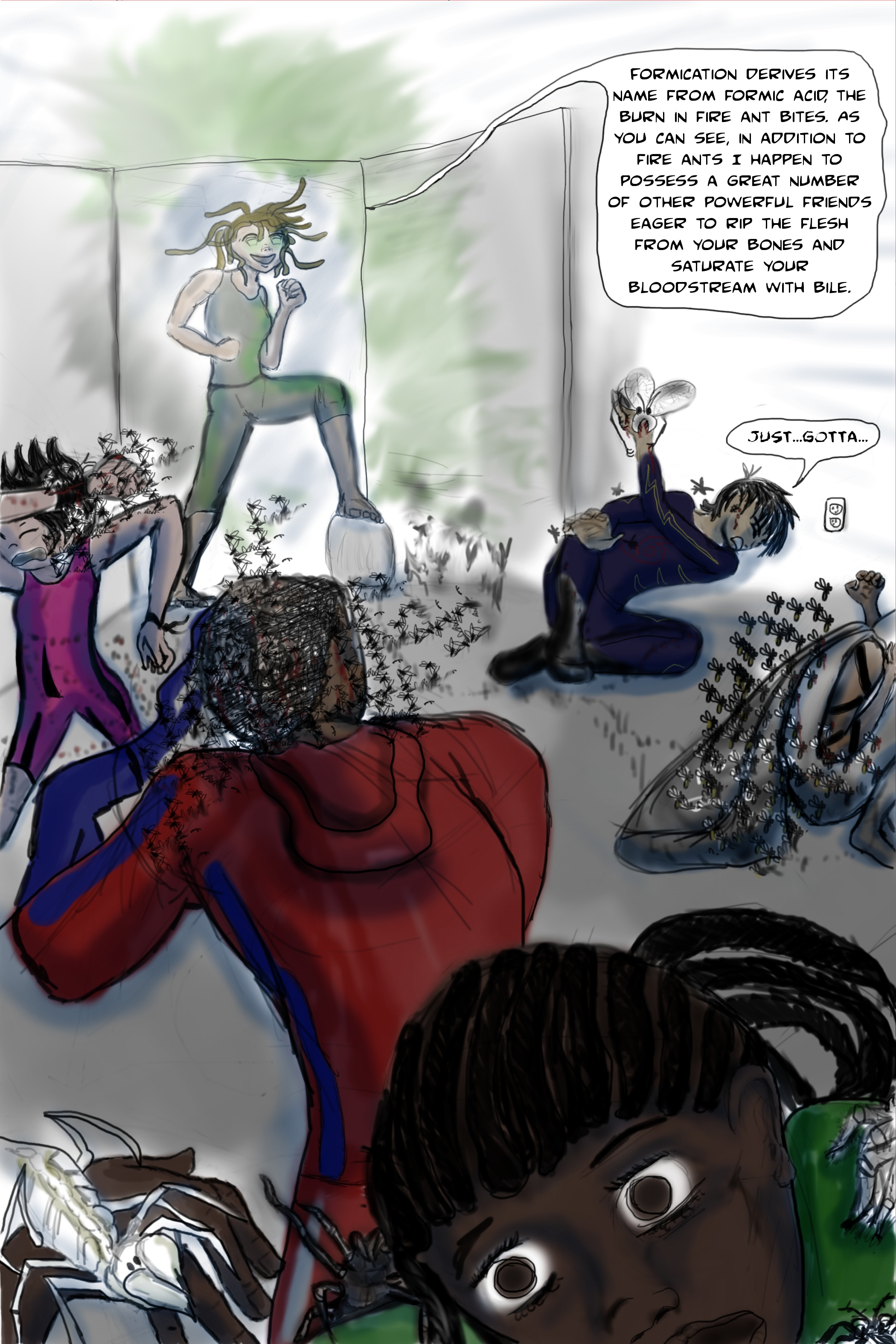 new skye comic page 4 bug terror