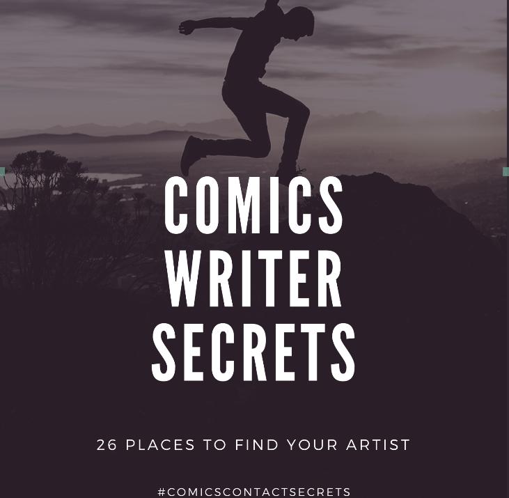 Comics writer secrets
